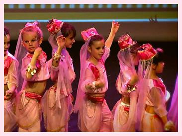 les coulisses/Gala de danse