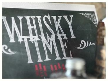 Intimité et whisky